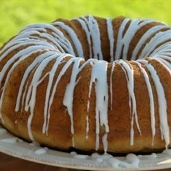 Banana Pudding Cake Recipe - This cake is a very moist banana cake that travels well to pot lucks or picnics. It can also be baked in a 9x13 pan or an angel food cake pan. It is a family favorite.
