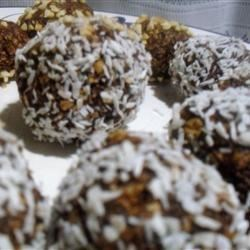 Swedish Chocolate Balls (or Coconut Balls) Recipe - A long-time favorite in Sweden, and a treat all Swedish children learn to make as one of their first cooking projects, these no-bake chocolate morsels combine rolled oats with sugar, cocoa, butter or margarine, coffee and melted chocolate. Rolled in coconut flakes, they're ready to pop in your mouth.