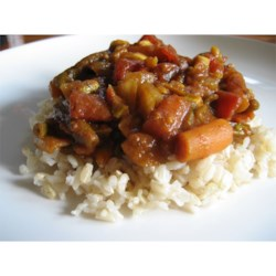Quick and Easy Vegetable Curry Recipe - A very quick and easy curry to serve up with rice and a salad.