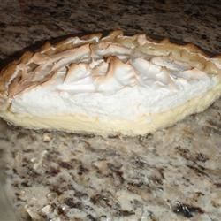 Lemon Meringue Icebox Pie