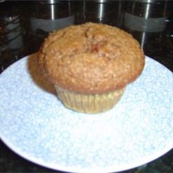 Delicious bran muffin
