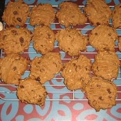 Oatmeal Raisin Cookies II Recipe - Fast cookie recipe to whip up.  You can also substitute your favorite dried fruit for the raisins. Total preparation time is 20 minutes, does not include 15 minutes for a 'cooling down' period.