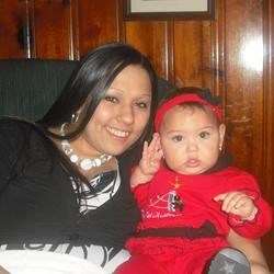 My daughter and I on Christmas 2009