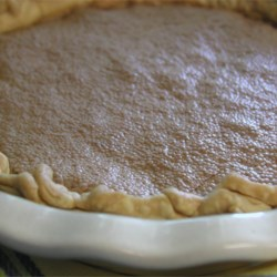 Chess Pie III Recipe -  This is a rich, flavorful pie that 's like eating a pecan pie without the pecans. Along with the sugar, butter and eggs, this recipe calls for cornmeal, vinegar and vanilla.