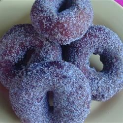 Grandma's Doughnuts Recipe - When you're hungry for doughnuts, but don't have the time to mix a dough, try this quick and tasty treat.