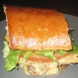 Spicy Monterrey Chicken Sandwich