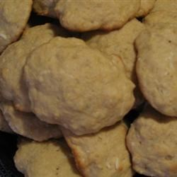 Banana Cookies Recipe - The nuts in these cookies can be ground or finely chopped. For a different twist try using 1/2 cup toasted sesame seeds in place of the nuts.