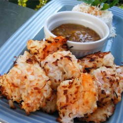 Baked Coconut Shrimp Recipe and Video - These coconut shrimp come out perfectly crunchy. You'll wonder why you ever fried them at all!