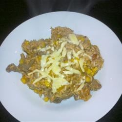 Beef and Rice Dish