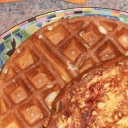 Hawaiian Waffles with Pineapple and Coconut
