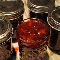 Rachel's Sugar Plum Spice Jam Recipe - When fresh plums are in season, put up some red plum jam with holiday flavors of clove and allspice. It makes a beautiful Christmas gift or addition to your Thanksgiving table.