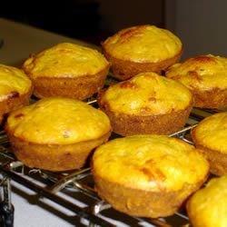 Smoky Corn Muffins