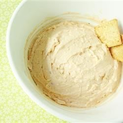 Greek Dip Recipe - Feta, Parmesan, and cream cheeses blend with sun-dried tomato pesto for a quick and easy dip.