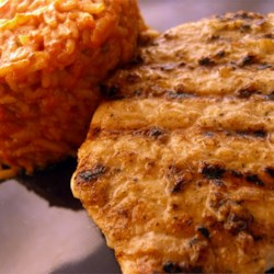 Coriander and Cumin Rubbed Pork Chops Recipe - Chops rubbed with a simple but flavorful spice and garlic mixture. For an even more potent result, toast and grind the spices yourself.