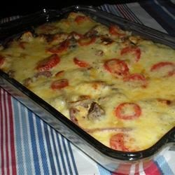 Colette's Smoked Sausage Fritatta Recipe - You can replace the smoked sausage in this fritatta with other meats or even vegetables. This recipe is great for using up leftovers.
