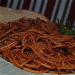 Spaghetti Al Amatraciana