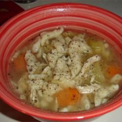 Spaetzle Soup