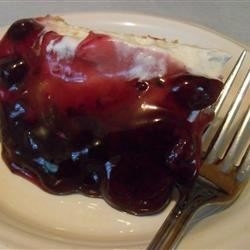 Cherry Cheesecake Pie Recipe - This  is the best cheesecake pie I've ever had.