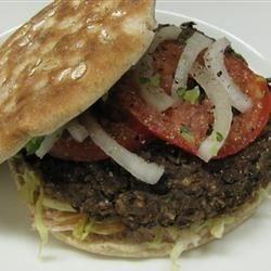 Homemade BB Veg Burger