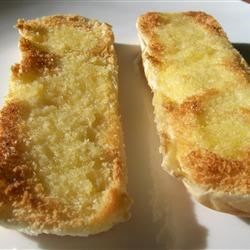 Emergency Garlic Bread Recipe - I stumbled upon this creation as I was needing some garlic bread but didn't have any French bread. You'd never know the difference!
