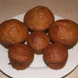 Whole Wheat Muffins Recipe - The muffins you get from this recipe using all-purpose and whole wheat flour are great while still warm from the oven!