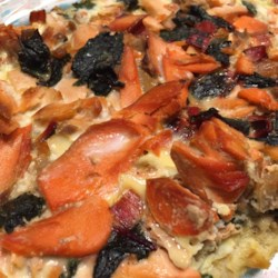 Salmon and Swiss Chard Quiche Photos - Allrecipes.com