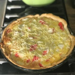 Crab and Cheddar Quiche - Review by pelicangal - Allrecipes.com