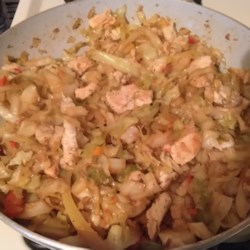 how to make southern fried cabbage