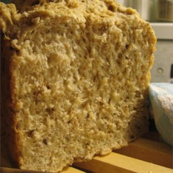 Cracked Wheat Bread I Recipe - This bread has just enough whole wheat to make it hearty and wholesome.