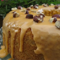 Mocha Chiffon Cake Recipe - This light and airy cake has the delicious taste of coffee and is great for dessert or an afternoon snack.