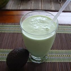 Avocado Blast Recipe - A thick and creamy shake made with avocados and sweetened milk.