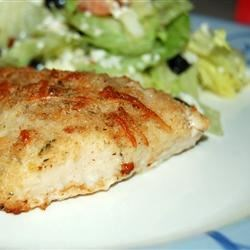 Baked Haddock Recipe - Haddock (or other white fish) is lightly breaded and baked.  Parmesan adds a nice flavor.  Quick and easy to prepare, it's a nice alternative to deep frying.
