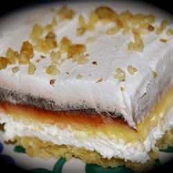 Vanilla and Chocolate Delight Recipe - This makes a delicious dessert that is layers of pecans, cream cheese, and vanilla and chocolate pudding.