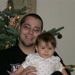 Grandson Justin & Great Granddaughter Lillian