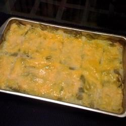 Green Bean and Potato Casserole Recipe - If your family likes green beans, cheese, and potatoes, they will love this!