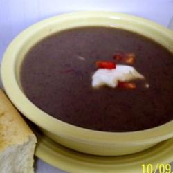 Calypso Black Bean Soup