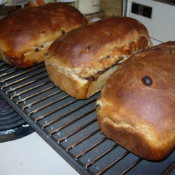 Raisin Cinnamon Loaves