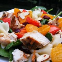 Mandarin Chicken Pasta Salad