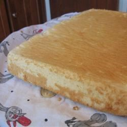Mock Angel Food Cake Recipe - This is an angel food cake for a sheet cake.  My grandma used to use this when she had a bakery.  I have never had a problem with it.  It is so easy to do.
