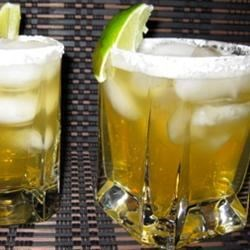 Italian Amaretto Margaritas On the Rocks Recipe - This quick and easy recipe for an Italian-style margarita calls for amaretto, triple sec, and tequila.
