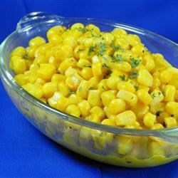 Horseradish Corn on the Cob Recipe - Sweet yellow tender ears of corn are enticing with a horseradish mustard butter. Tip: Horseradish butter can be used as a spread for sandwiches or vegetables.
