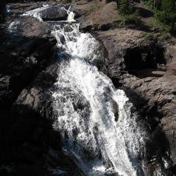 Northwoods Waterfall