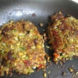 """Meat's Too Expensive!""  Vegetarian Burgers"