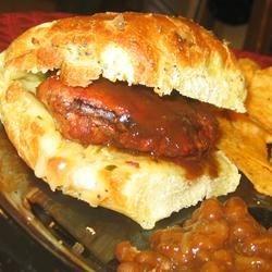 Seasoned Turkey Burgers MOST DELICIOUS! (May 31, 2010)