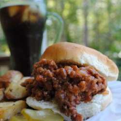 Pennsylvania Coal Region Barbecue Recipe - This is a wonderful staple of the Pennsylvania Coal Region.  It's the traditional 'sweet and sour'.  Delicious on a hamburger bun.