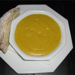 Summer Soup of Butternut and Corn