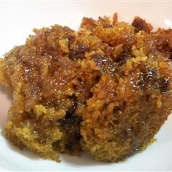 Old Fashioned Carrot Pudding Recipe - A traditional steamed pudding made with carrots, raisins, walnuts and spices. I received this recipe about 40 years ago from a friend who said it had been in her family for generations.  It comes out wonderfully moist and flavorful.  I have given it as Christmas gifts many times and it's always very well received.