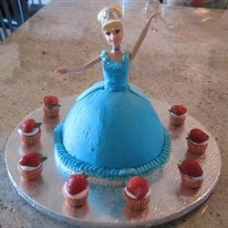 Allrecipes Recipe Barbie Doll Cake