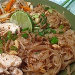 Sukhothai Pad Thai Recipe - This dish can be made with shrimp, chicken or pork instead of tofu. Look for the more exotic items in the Asian foods section at your local grocery store. Adjust the pad Thai sauce ingredients to taste.