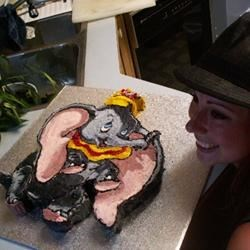 DD & Dumbo Cake